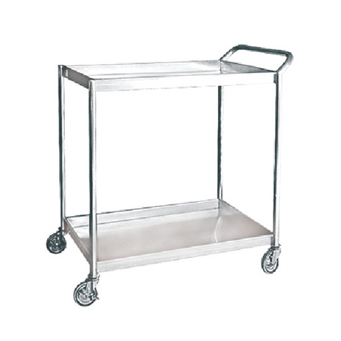 2 Tiers Trolley (Stainless Steel)