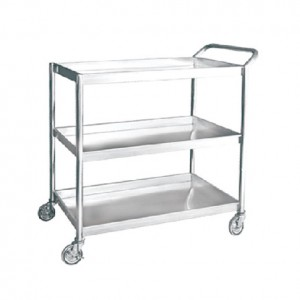 3 Tiers Trolley (Stainless Steel)