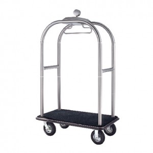 Birdcage Styling Cart (B) - Hairline Finish