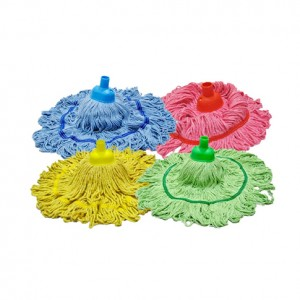 colour circular mop