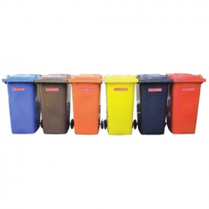 Colour Mobile Garbage Bin