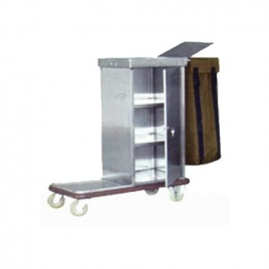Stainless Steel Escort Cart Trolley