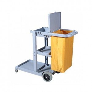 Janitorial Cart Trolley (with cover)