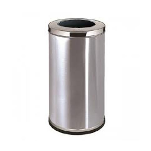 Stainless Steel Round Waste Bin (Open Top)