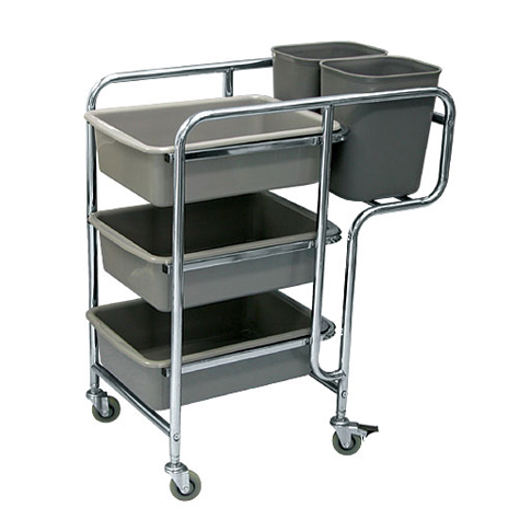 Restaurant Cart B (Stainless Steel)