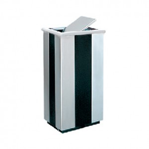 Stainless Steel + Print Coating Rectangular (Flip Flop) Bin