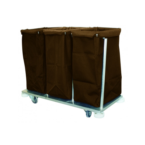Collection & Sorting Soiled Linen Trolley (Stainless Steel)