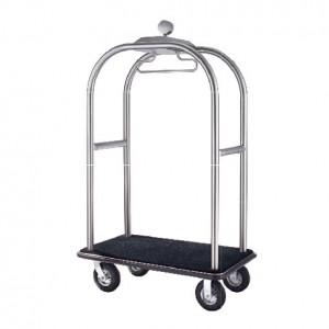 Birdcage Styling Cart (B) - Hairline Finish