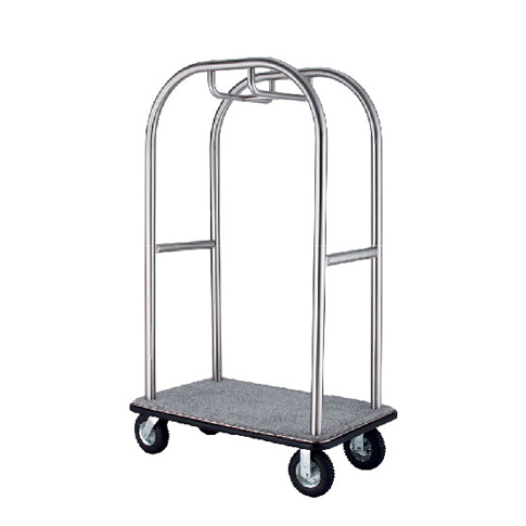 Birdcage Styling Cart (A) - Hairline Finish