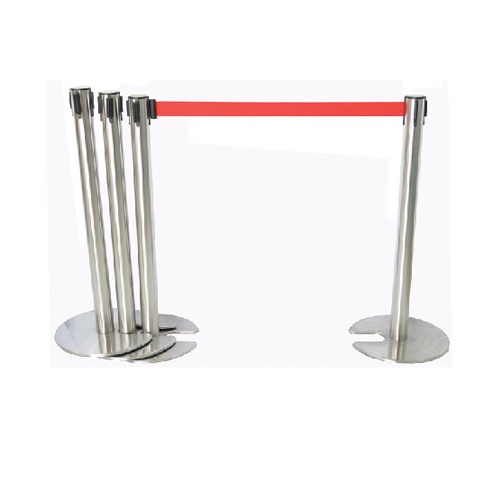Stainless Steel Self Retrachable Q-Up Stand