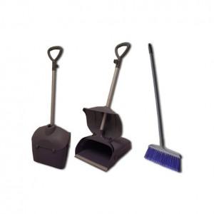 Lobby Dust Pan c/w broom