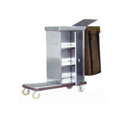 Stainless Steel Escort Cart Trolley