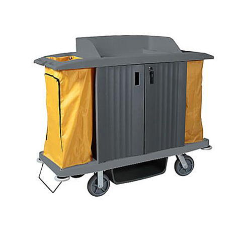 Housekeeping (Room Service) Cart (with Shelf Locking)