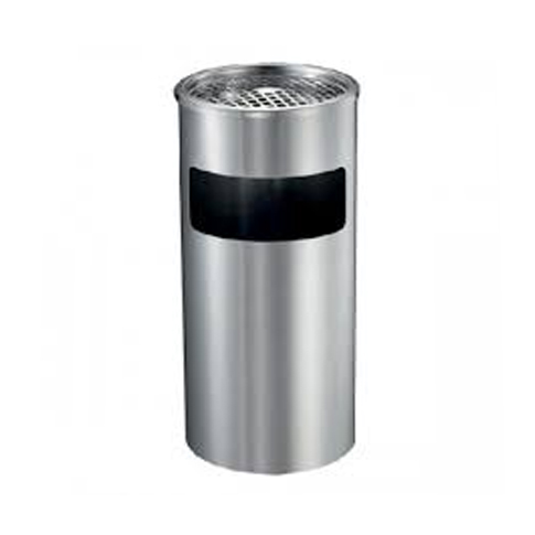 Stainless Steel Round Bin (Ashtray Top)