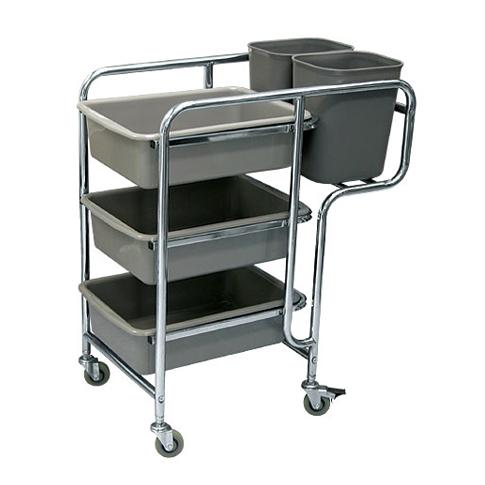 Restaurant Cart B (Stainless Steel)