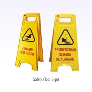 Yellow Floor Sign